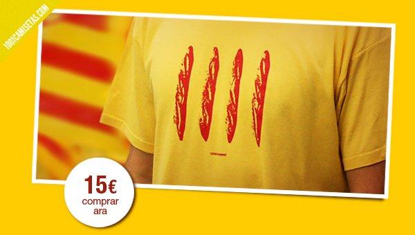 Camiseta 4 barres