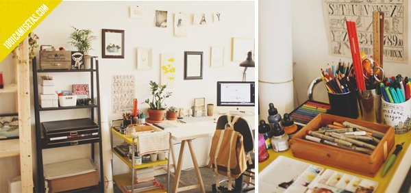 Brooke Weeber workspace