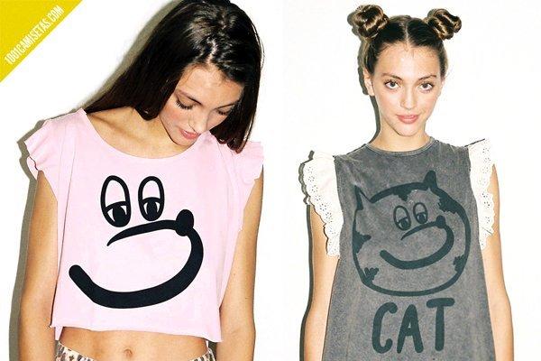 Camisetas animales Lazy Oaf