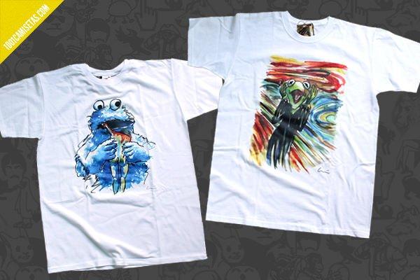 Camisetas historias con arte
