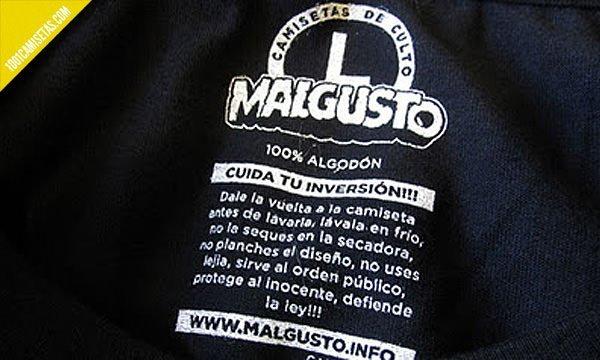 Etiquetas Malgusto