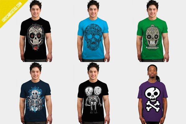 Camisetas calaveras wotto