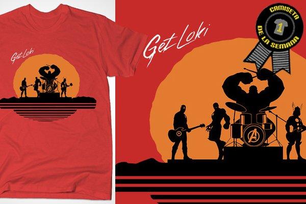 Camiseta de la semana get loki