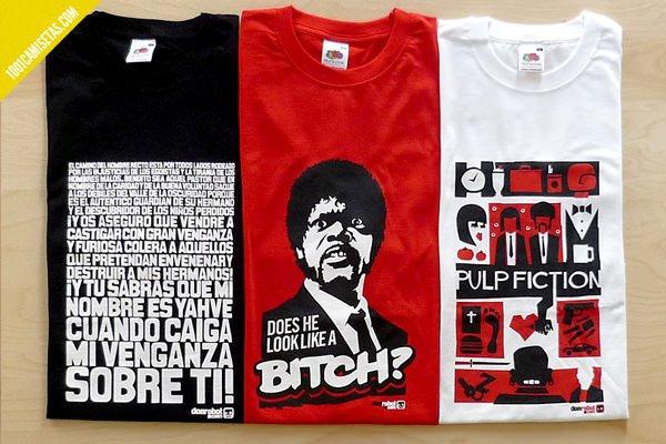Camisetas serigrafia Don Robot