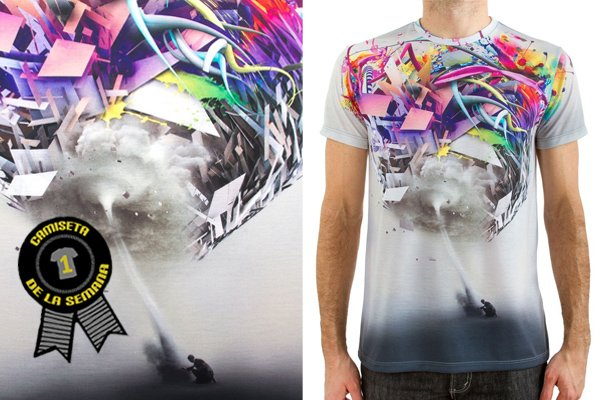 Camiseta full print Imaginary foundation