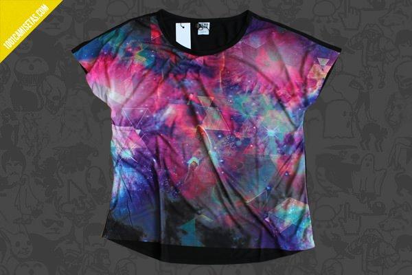 Camiseta galaxia full print