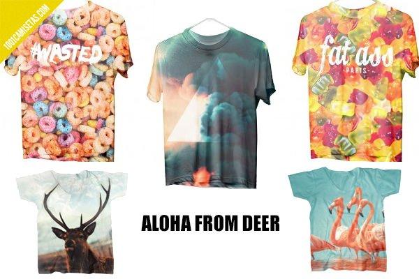 Camisetas Aloha from deer