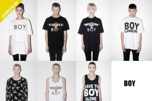 Camisetas Boy London