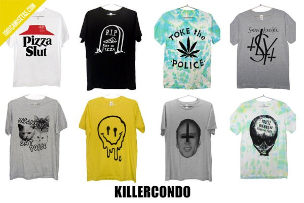 Camisetas  Killercondo
