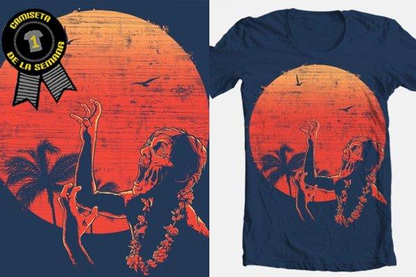 Camiseta de la semana Zombies