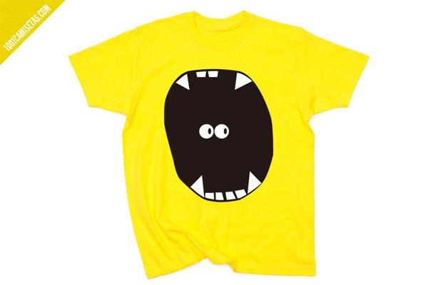 Camiseta monstruo