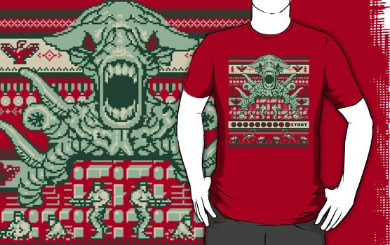 Camiseta a contra family christmas