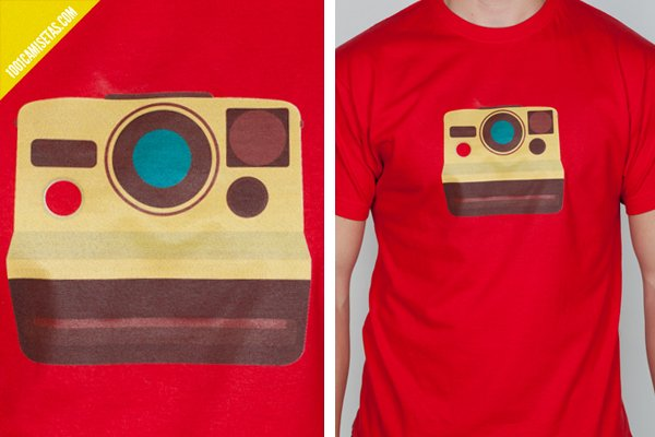 Camiseta polaroid