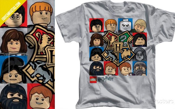 Camiseta Harry Potter Lego