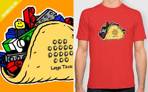 Camiseta lego taco
