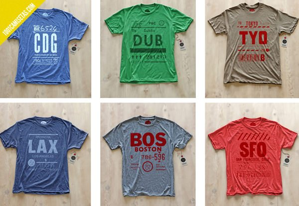 Airport tshirts