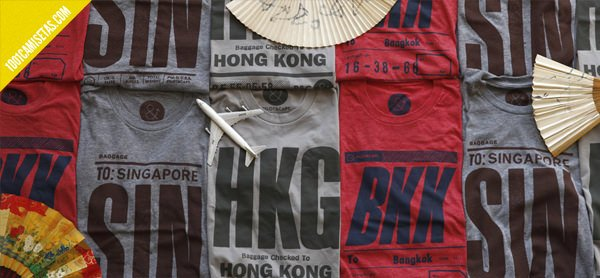 Camisetas de ciudades