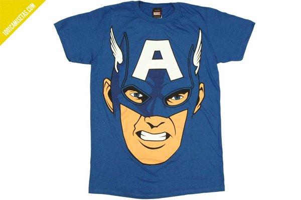 Capitan america camiseta