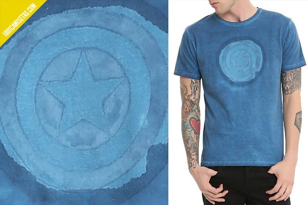 Tee shirt captain america