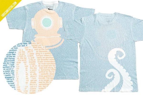 Camiseta 20000 leguas viaje submarino