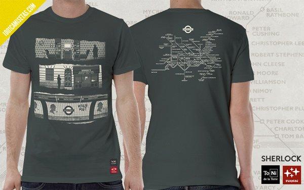 Camiseta Sherlock Toni de la Torre