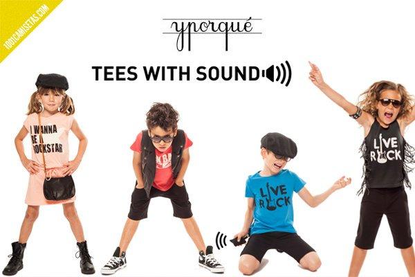 Camisetas con sonido