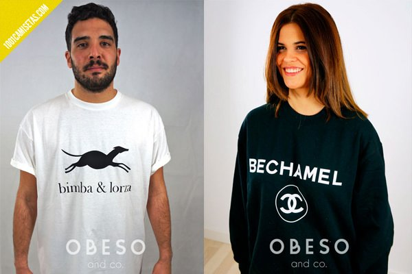 Camisetas obeso and co