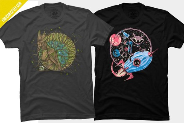 Camisetas guardians galaxy