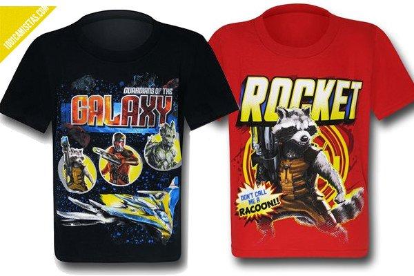 Guardianes de la galaxia camisetas