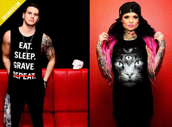 T-shirts Scare til death