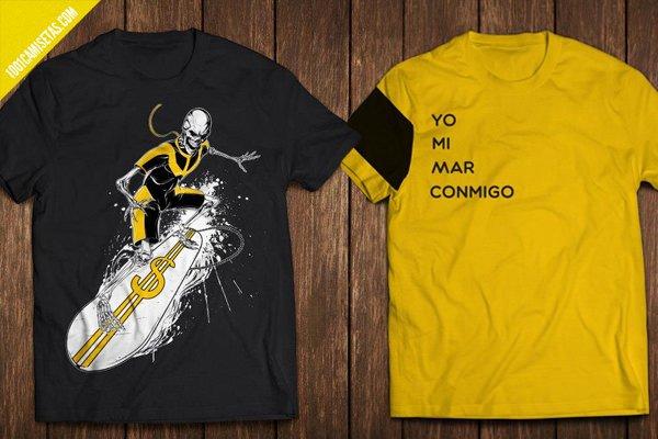 Camisetas crowdfunding canarias