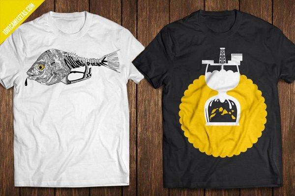 Camisetas ecologicas islas canarias