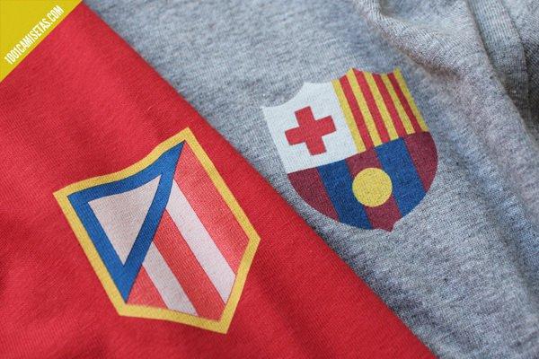 Camisetas futboleras