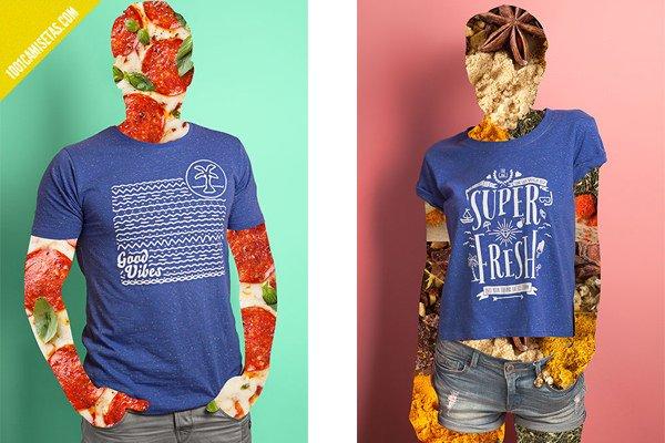 Camisetas Good Vibes