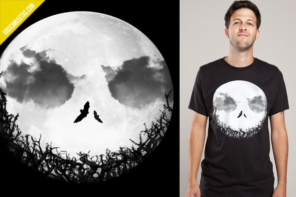 Camiseta jack full moon