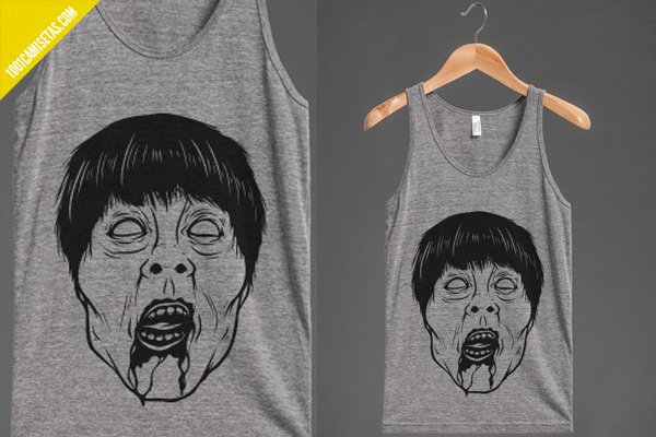 Camiseta zombie