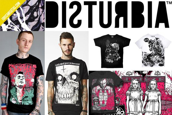 Camisetas disturbia