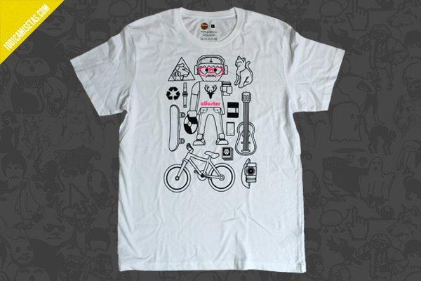 Camiseta clicster