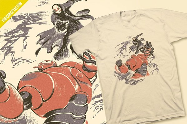Camisetas big hero 6