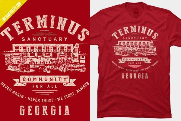 Camiseta terminus