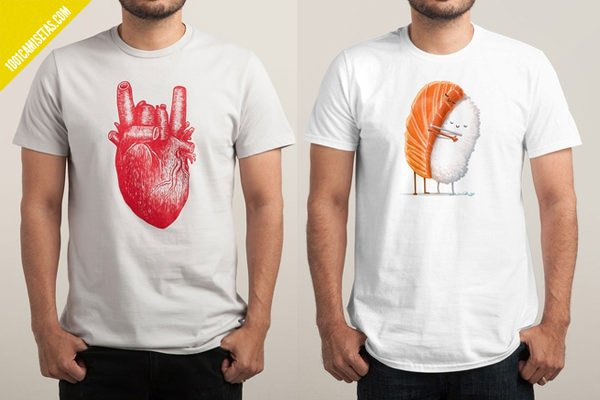 Camisetas emo