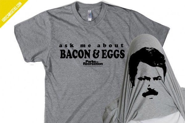 Camiseta bacon and eggs parks