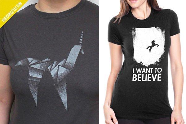 Camisetas unicornio blade runner
