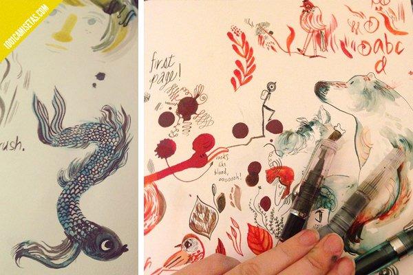 Ilustraciones Meg Hunt
