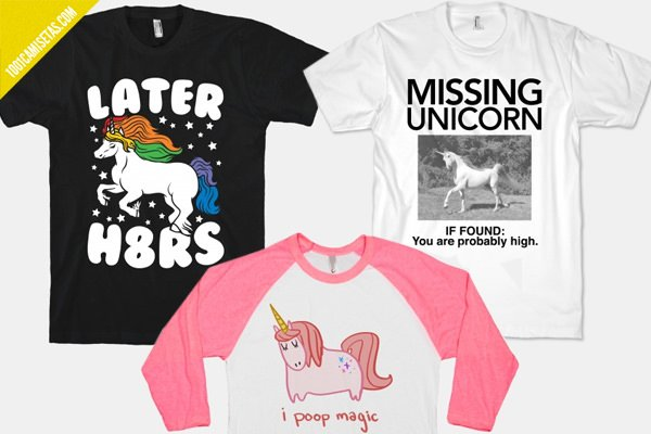 Unicorns tees human