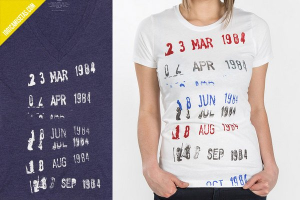 Camiseta estampa libreria