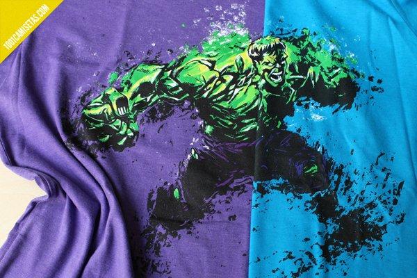 Camisetas Hulk