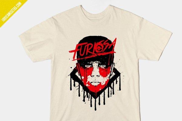Camiseta furiosa mad max