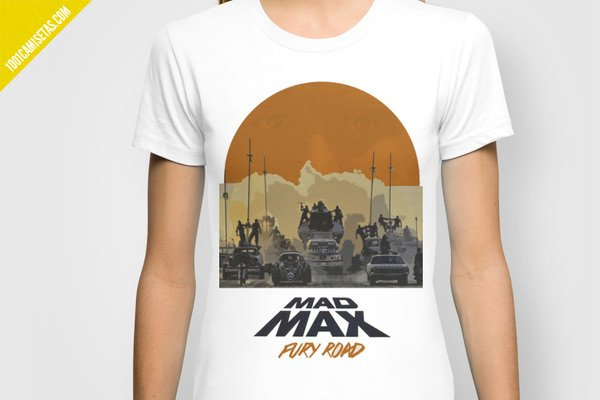 Camiseta fury road mad maz