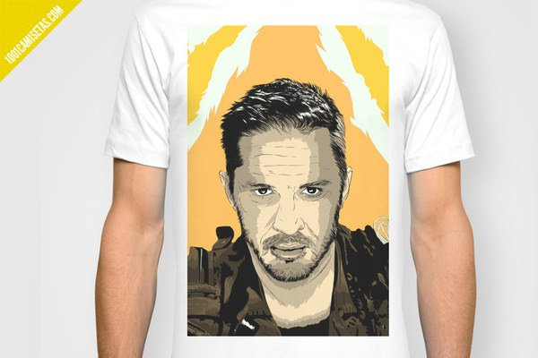 Camiseta mad max tom hardy